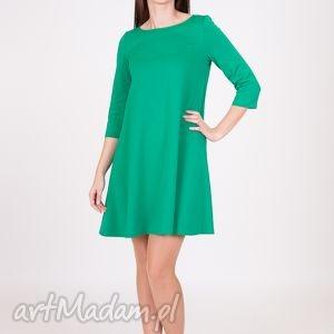 hand-made sukienki 7 - sukienka jasno zielona