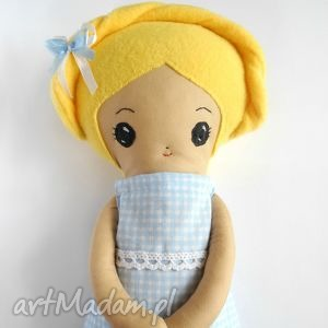 Prezent Lalka Eliza - mała artystka, lalka, szmacianka, prezent, przytulanka