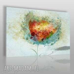obraz na płótnie - artystyczny kwiat - 120x80 cm 57301 - kwiat, artystyczny