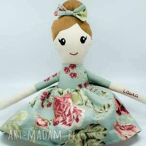 Szmaciana lalka personalizowana, szmaciana, ręcznie robiona, 45