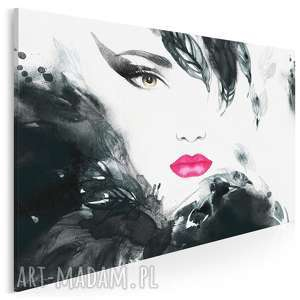 Obraz na płótnie - kobieta glamour 120x80 cm 21801 vaku dsgn