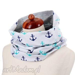 kominy komin morski na prezent, komin, morski, kotwica, dwustronny