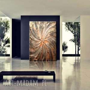 grubo rzeźbiony obraz nowoczesny nie tylko do salonu