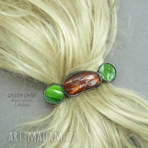 ozdoby do włosów dla mamy - wspaniały prezent spinka handmade