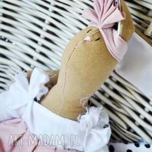 Pani królik przytulanka z imieniem maskotki peppofactory prezent