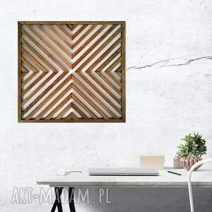 dekoracje obraz z drewna, dekoracja ścienna /91 - solo -ażur /