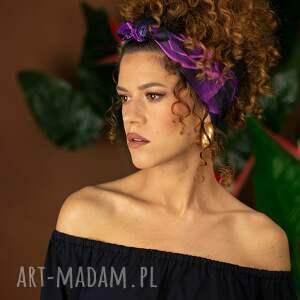 opaski opaska - magic rose, opaska, do włosów, kolorowa