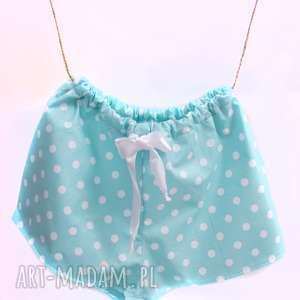 pomysł na upominek święta Szorty piżama Turkusowe , piżama, pidżama, prezent