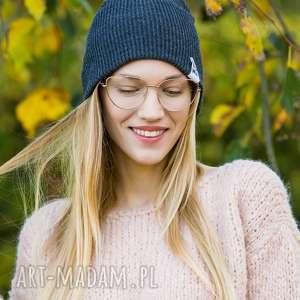 handmade czapki czapa dwustronna logo kolorowe cool gray