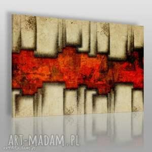 obrazy obraz na płótnie - abstrakcja geometria 120x80 cm 40301