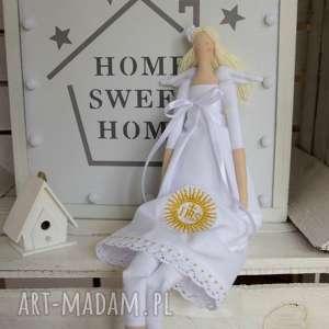 handmade lalki pamiątka pierwszej komunii świętej anio&#322