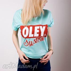 modna koszulka bluzka t-shirt top do szkoły fitness biegania oley system