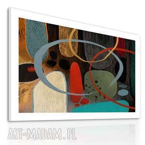 Obraz na płotnie - 100x70cm ABSTRAKCJA 0228 wysyłka w 24h, abstrakcja, wydruk,