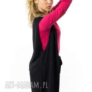 kamizelka damska długa brigitte nero, długa, rozcieńcie, elegancka, kobieca