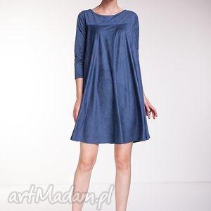 święta prezenty, sukienki sukienka noelia - niebieska, moda