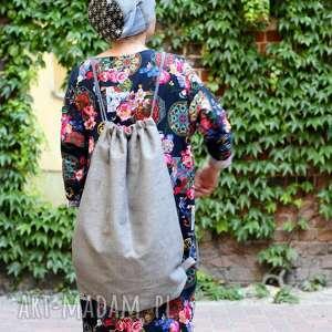 handmade plecaki duży plecak na lato