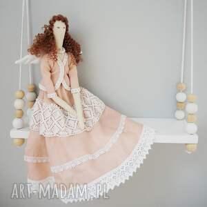 lalki anioł - lalka, anioł, retro, aniołek, lala, dekoracja, świąteczny