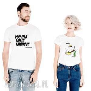 koszulki dla par kocham moją migotkę - migotka, niej, niego