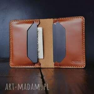 męski portfel skórzany buttero szeroki, prezent dla niego, portfel ręcznie