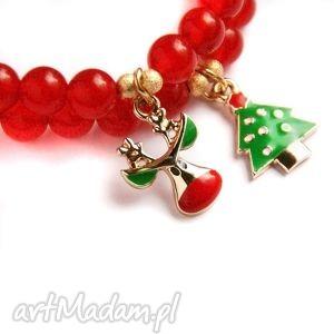 Pomysł co pod choinkę? Rudolph:: świąteczna bransoletka kaktusia