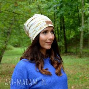 kolorowe maziaje czapka beanie kolorowa, czapka, beanie, kolorwa, ciepła