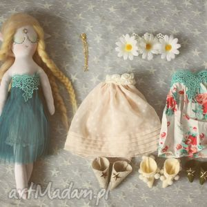 bajka z magiczną szafą - elfia lalka topaz - lalka, ubranka, komplet, elf, wrozka