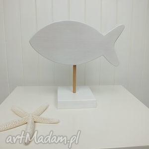 ryba na patyku, ryba, ozdoba, figurka, morski, unikalny
