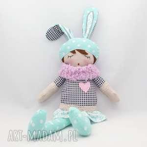 ręcznie zrobione lalki lala przytulanka bibi śpioszka, 46 cm
