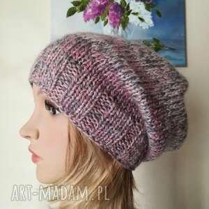 pod choinkę prezent, śniegiem czapka, rękodzieło, zima, bezszwowa, czapka