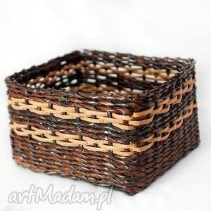 prostokątny koszyk eko - przechowywanie, pudełko, koszyczek, prezent