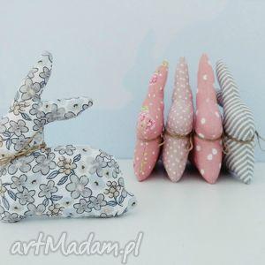 zajączki wielkanocne dekoracyjne - ,dekoracja,zajączki,króliczki,wielkanoc,skandynawskie,