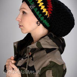 DreadLove Rasta 06, czapka, czapa, dready, długa, ciepła, rasta