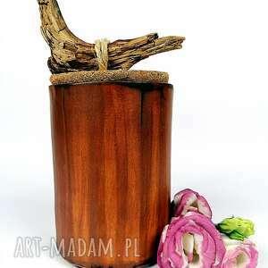 handmade ceramika pojemnik ceramiczny - natura