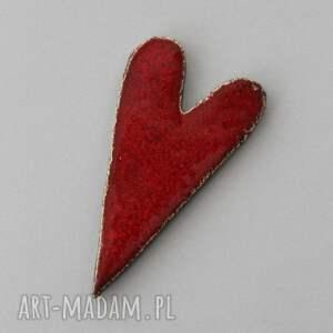 serducho-magnes ceramiczny, szczęście, minimalizm, design, miłość, walentynki