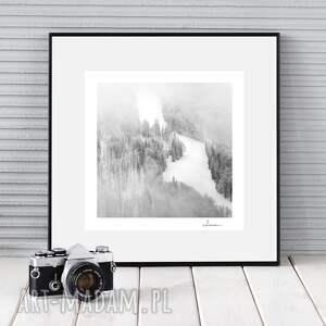 autorska fotografia, zimowy pejzaż iii, zdjęcie, dekoracja, prezent