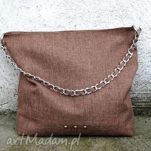 ręcznie wykonane torebki tote na ramię five o clock