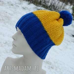 ręcznie zrobione czapki