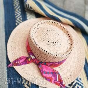 kapelusz pink, kapelusz, róż, różowy