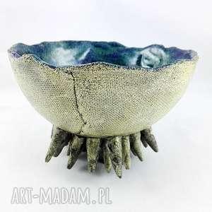 ręcznie wykonane ceramika miska ceramiczna - morska