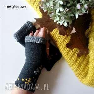 The Wool Art! rękawiczki mitenki