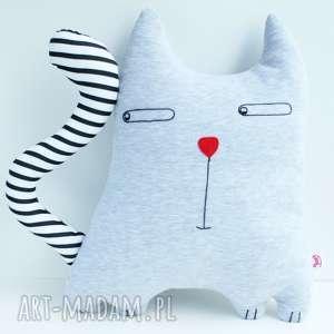 PODUSZKA KOTEK MARKOTEK, kot, poduszka, zabawka, maskotka, jasiek, łóżeczko