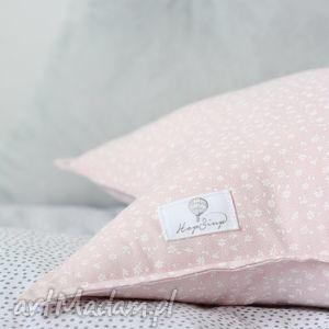 Poduszka gwiazdka różowa pokoik dziecka hop siup poduszka