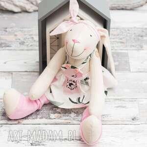 handmade zabawki królik przytulanka prezent personalizacja