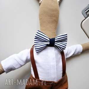 pan królik - lalka, szmaciana, szmacianka, dziecka, prezent, narodziny