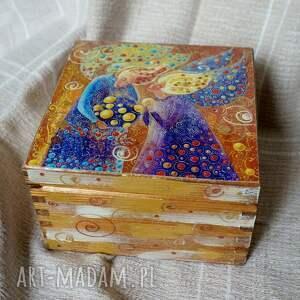 pudełko wielka tajemnica małych sekretów 13x13, anioł, anioły, sekrety, milość