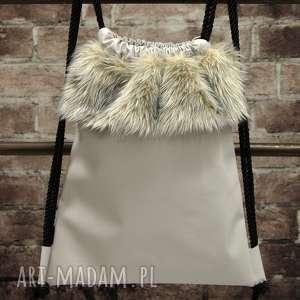 ręcznie wykonane plecaki bbag grey wind plecak worek