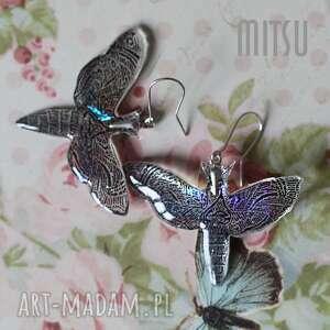 świąteczne prezenty, hologram butterfly, motyle, motyl, ćma, duże, graficzne, lekkie