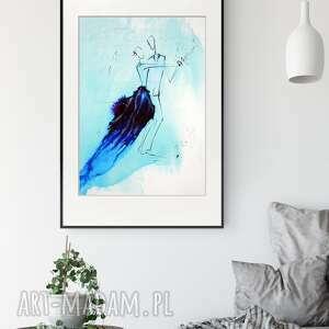 akt do sypialni 50x70 cm, nowoczesna abstrakcja, 2497807, obrazy ręcznie malow