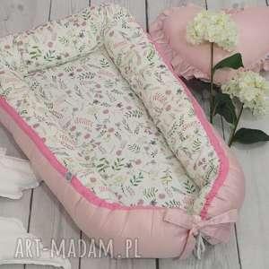 kokon dla niemowlaka akwarelowe kwiatki gniazdko, niemowlaka, gniazdko