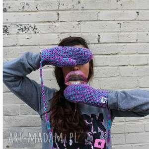 rękawiczki mode 6 - braininside, zima, rękawiczki, dwupalczaste